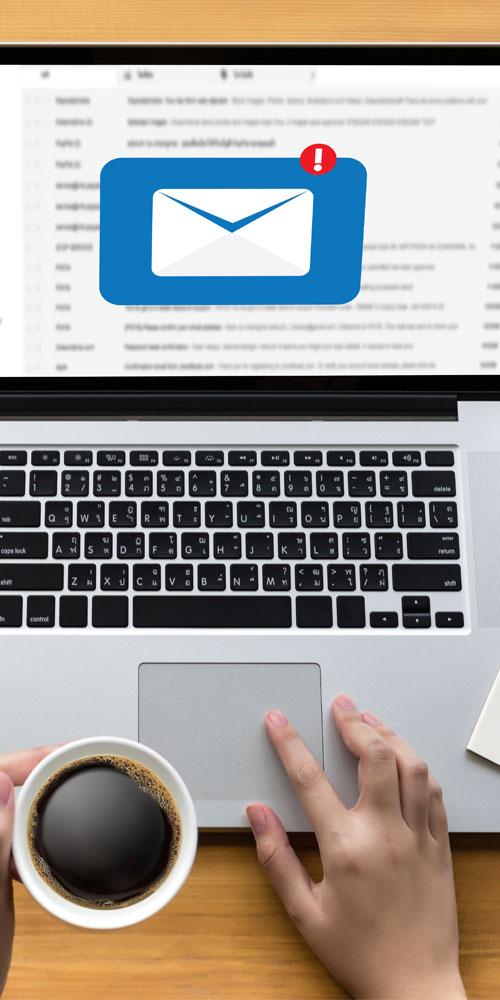 E-mails et newsletters